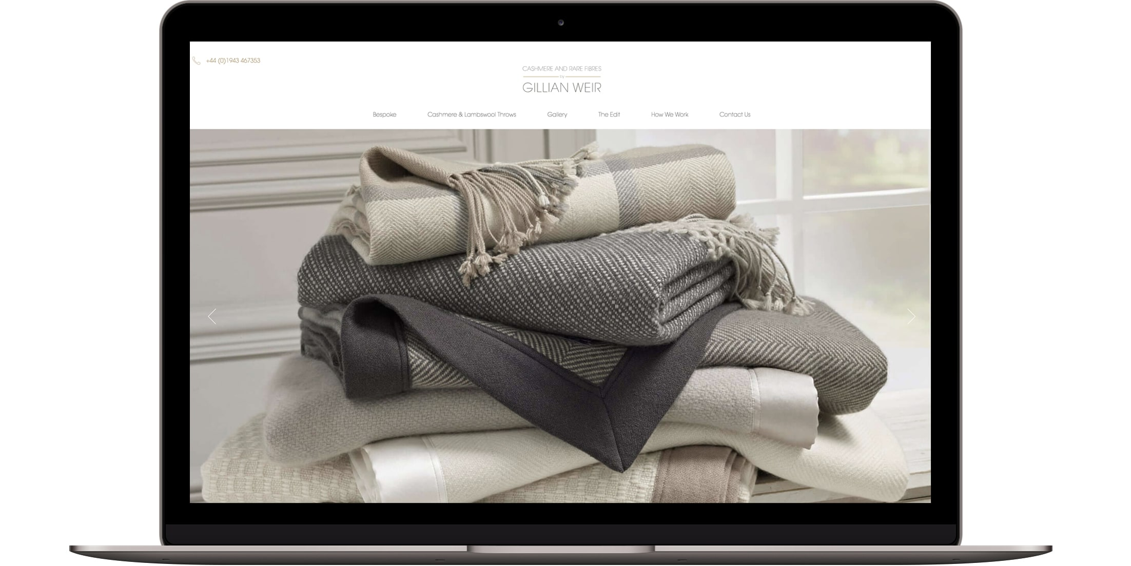 Cashmere website